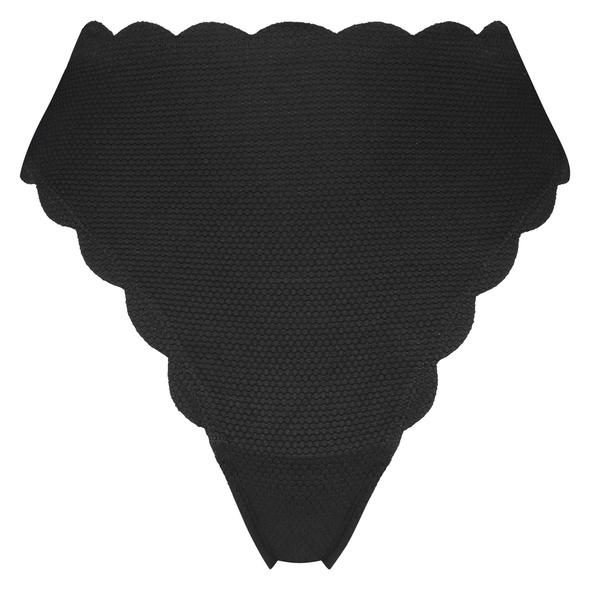 Hunkemöller Highleg-Bikini-Slip mit hohem Sitz Scallop Glam
