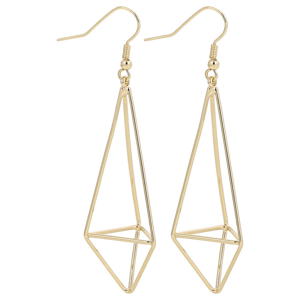 Ohrhänger - Gold Triangle