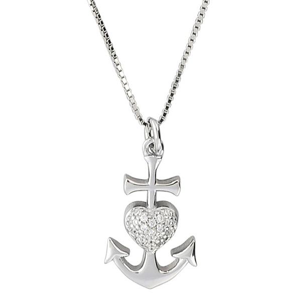 Kette - Lovely Anchor Heart