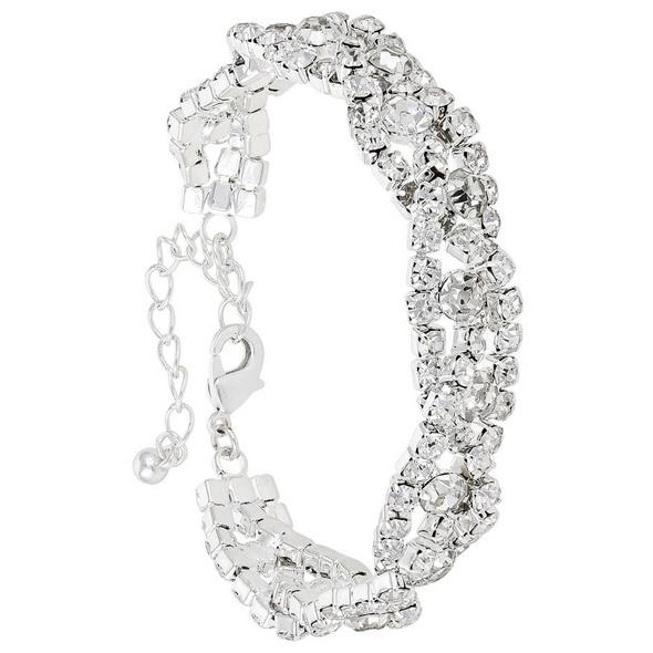 Armband - Silver Glitter