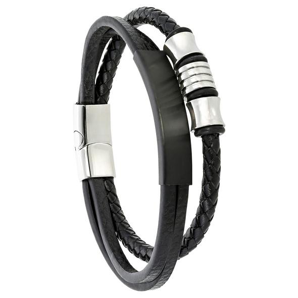 Herren Armband - Black Shine