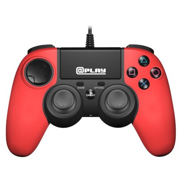 @Play PS4 Controller 2.0 (kabelgebunden) rot