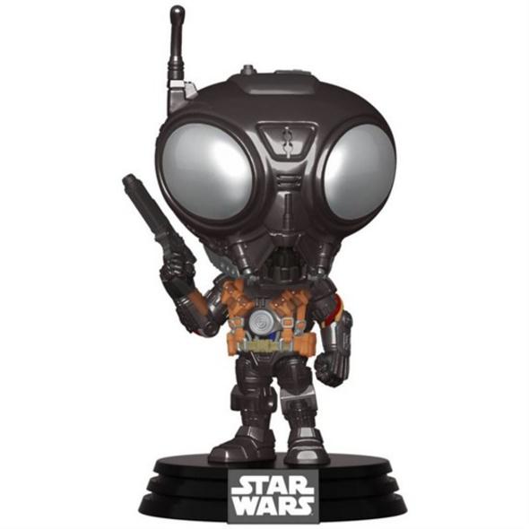 Star Wars: The Mandalorian - POP!-Vinyl Figur Q9-Zero