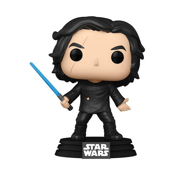 Star Wars - POP!-Vinyl Figur Ben mit blauem Lichtschwert