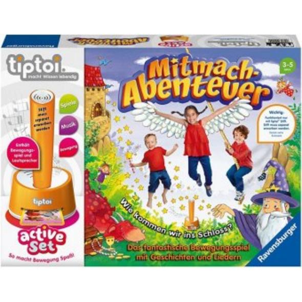 tiptoi  active Set Mitmach-Abenteuer