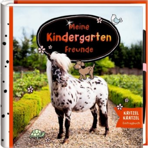 Freundebuch - Pony Dotti - Meine Kindergartenfreun
