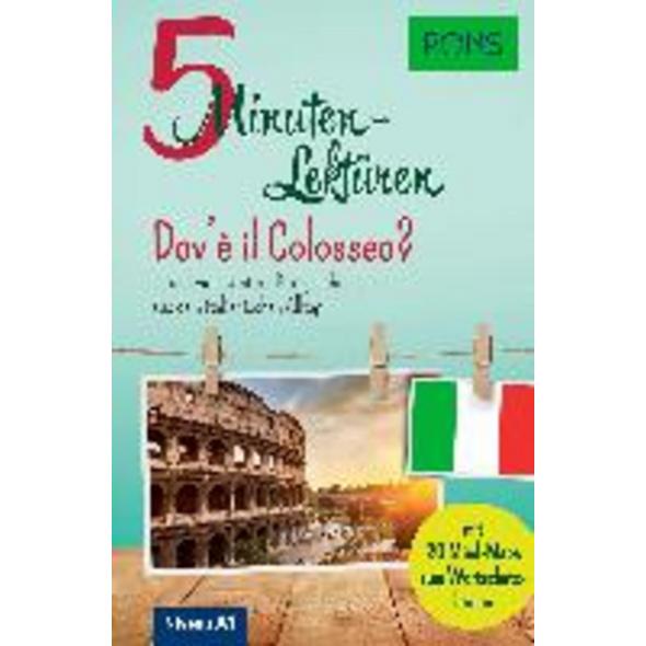 PONS 5-Minuten-Lektüren Italienisch A1 - Dov è il