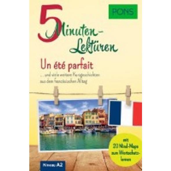 PONS 5-Minuten-Lektüren Französisch A2 - Un été pa