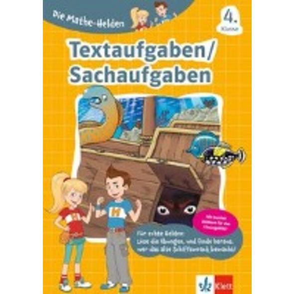Die Mathe-Helden. Textaufgaben Sachaufgaben 4. Kla