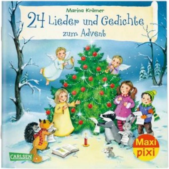 Maxi Pixi 301: 24 Lieder und Gedichte zum Advent