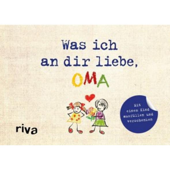 Was ich an dir liebe, Oma - Version für Kinder