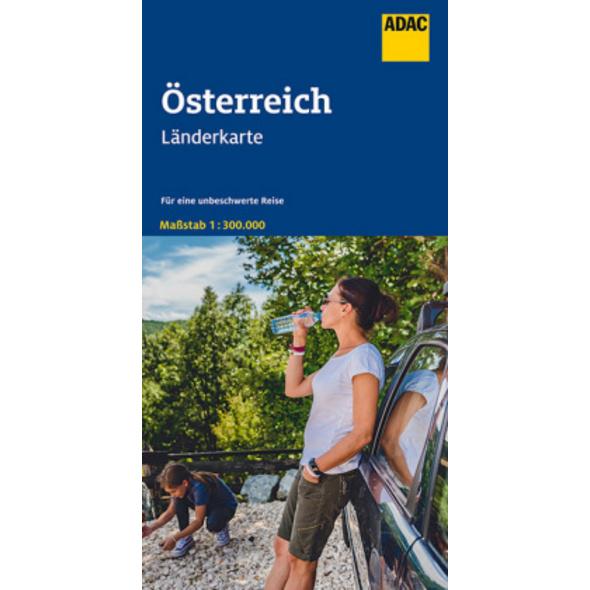 ADAC LänderKarte Österreich 1:300 000