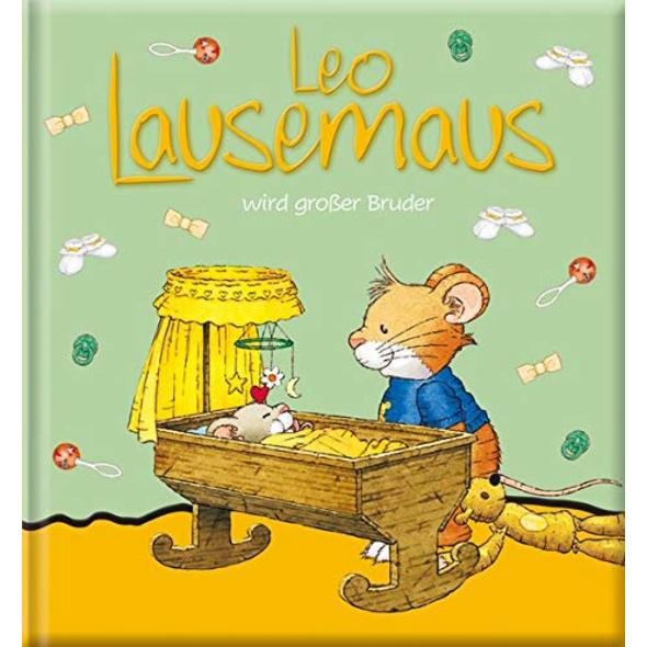 Leo Lausemaus wird großer Bruder