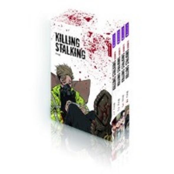 Killing Stalking Season II Complete Box  4 Bände