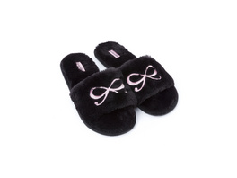 Hunkemöller Fake Fur Slippers Bow