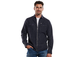 Langarm-Hemd im Overshirt-Design