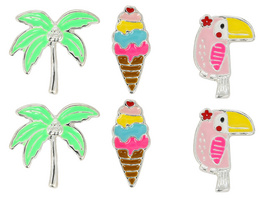Kinder Ohrstecker-Set- Little Paradise