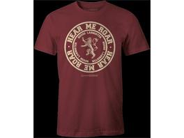 Game of Thrones - T-Shirt Lannister (Größe L)