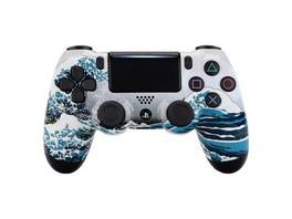 PS4 Dualshock Rebuilt Controller Große Welle (Glossy)