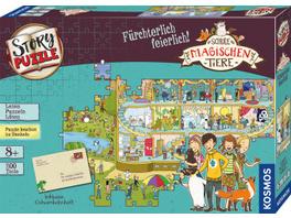 Schule der magischen Tiere - Story Puzzle: Fürchte