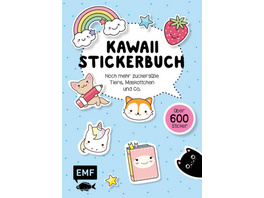 Kawaii Stickerbuch - Band 2