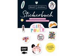 Bullet Journal - Stickerbuch: Girlpower